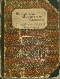 Click on image to see the minutes of the first BSA meeting, 1894.