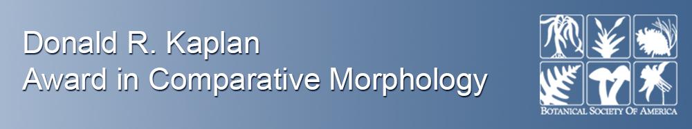 Kaplan Award in Comparative Morphology
