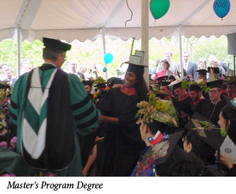 Uromi Goodale, Master's Program Degree