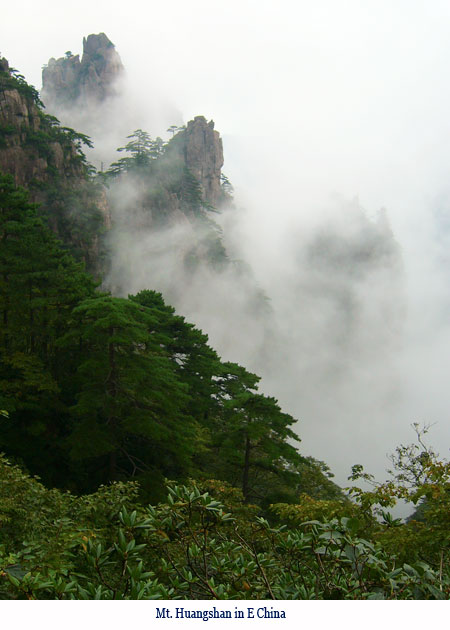 Wenchi Jin, Mt. Huangshan in E China