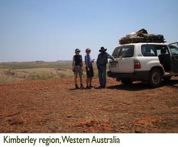 Patricia Lu-Irving, Kimberley region, Western Australia